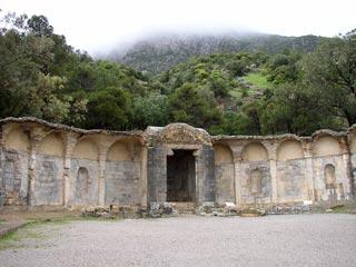 Nymphée ou Temple des Eaux – Zaghouan