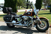 Heritage Softail Classic 105th - 2008