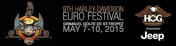 Euro festival Harley-Davidson 2015