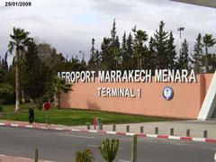 Arrivée Marrakech