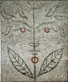 Mosaïque de Jean Cocteau placée à l'entrée du Bastion