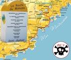 Carte - Route du mimosa