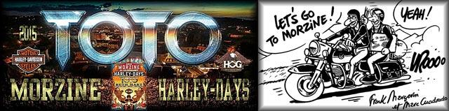 Morzine Harley-Days 2015