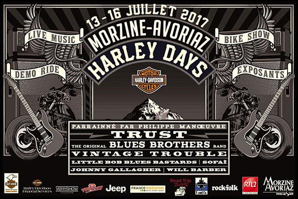 Morzine-Avoriaz Harley-Days 2017