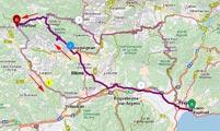 Itinéraire Tourtour - Var