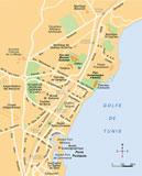 Plan su site de Carthage