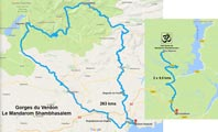 Itinéraire Gorges du Verdon | Le Mandarom Shambhasalem