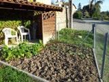 Préparation du sol avec la Grelinette avant l'hiver.