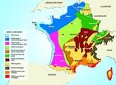Carte des zones climatiques