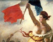 Eugène Delacroix - La liberté guidant le peuple - 1830