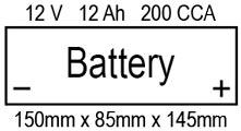 XL 1200V - OEM Battery Caractéristiques générales