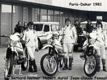 BMW Paris-Dakar 1981