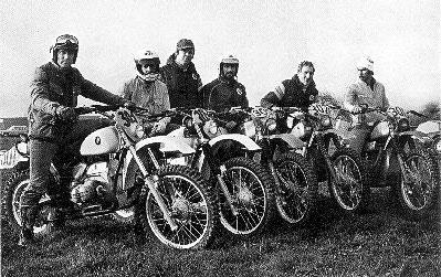 BMW Enduro Team 1979