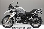 BMW R1200 GS 2016
