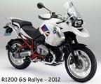 BMW R1200 GS Rallye 2012