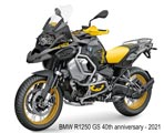 BMW R1250 GS 40th 2021