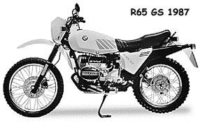 BMW R65 GS 1987