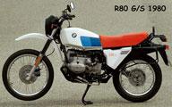 BMW R80 G/S 1980