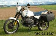BMW R80 GS 1987