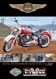 Harley-Davison Motorcycles Lineup 2013