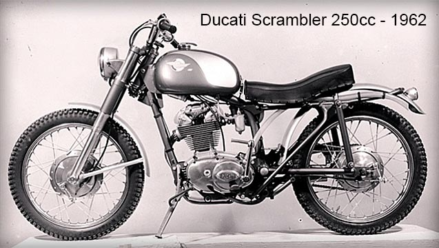Ducati Scrambler - 1962