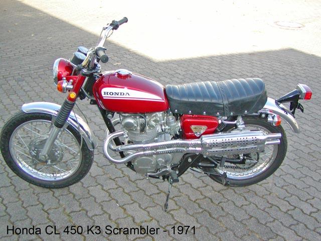 Honda CL 450 K3 Scrambler - 1971