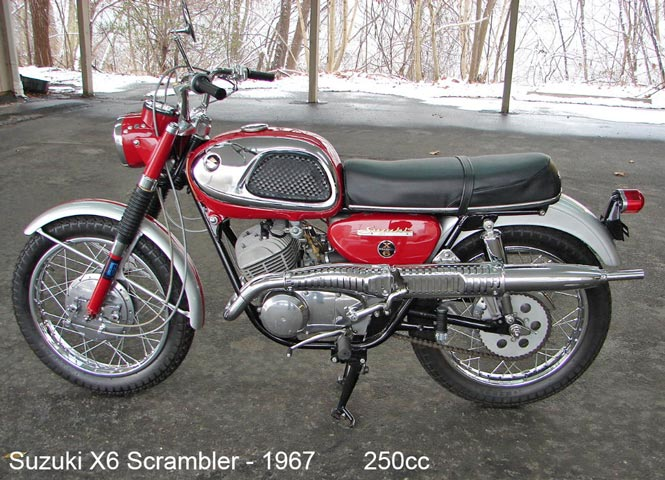 Suzuki X6 Scrambler - 1967