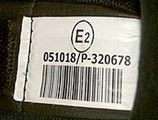 Étiquette d'homologation des casques