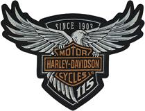 Logo H-D 115th Anniversary