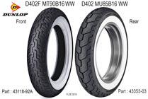 H-D Dunlop D402F & D402