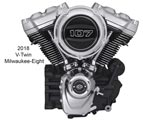Le nouveau moteur V-Twin Milwaukee-Eight 107