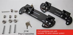 Cs4 - Detachable & lockable mounting system