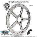 Arlen Ness 15 pouces Big Brake Floating Rotor Kits