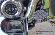 Kuryakyn ISO Brake Pedal Pad