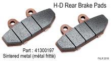 H-D Rear Brake Pads