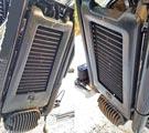 FXLR - Protection du radiateur d'huile