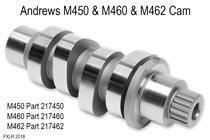 Andrews M450 & M460 & M462 Cam Kit