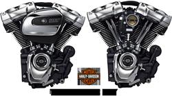 Milwaukee Eight 107 & 114 | Nouveaux moteurs Harley-Davidson 2017