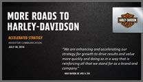 More roads to Harley-Davidson™