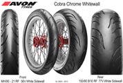 Avon Cobra Chrome Whitewall