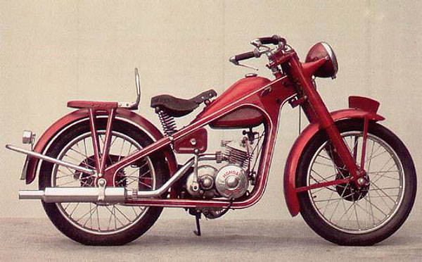 Honda Dream D - 1949