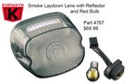 Kuryakyn Laydown Taillight Lenses - 4767