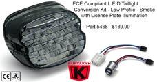 Kuryakyn ECE Compliant LED Taillight Conversion - 5468