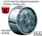 Kuryakyn ECE Compliant LED Turn Signal Inserts - 5473