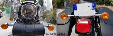 XL 1200T Éclairage avant