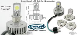 Zodiac Cyron Retrofit LED Bulb for H4 connection - 743294
