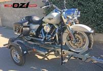 Remorque porte-moto OZI Concept