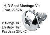 H-D Seat Montage Vis - Part 2952A