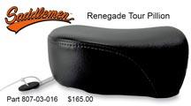 Saddlemen Renegade Tour Pillion
