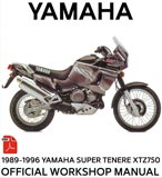 XTZ750 3LD - Official Workshop Manual